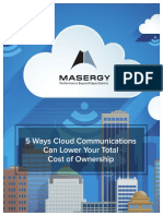 5 Ways Cloud Communications Can Lower Your TCO