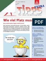 IGM Tipps Arbeitsplatz Flaeche