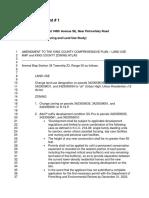 Final Fairwood A Rezone Amendment