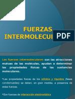 QUI Clase 7 Fuerzas Intermoleculares
