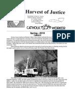 Harvest of Justice Spring 2010