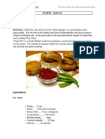 Recipe of vada Pav
