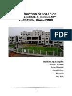Construction of Board of Intermediate