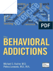 Behavioral Addictions, The - Michael S. Ascher & Petros Levounis