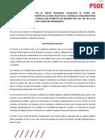 Propuesta relativa al recargo del 50% del IBI de Viviendas Desocupadas de Entidades Financieras