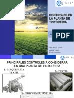 Controles en Tintoreria Planta