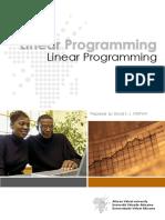 AVU - Linear Programming
