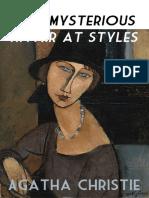 Agatha Christie  The Mysterious Affair at Styles