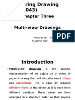 Chapter 3-Multiview Drawings