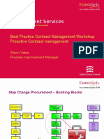 Best Practice Contract Management Workshop