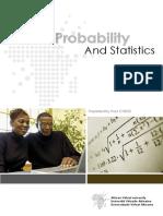 AVU - Probability and Statistics