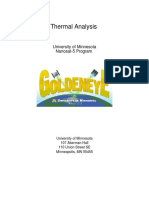 Thermal Analysis Report