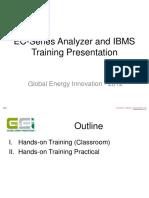 GEI EC-Series Analyzer IBMS Training