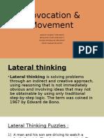 Provocation & Movement