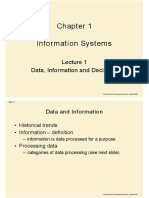 Chapter 1 - Information Systems