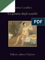 Andrea Camilleri - La Giostra Degli Scambi