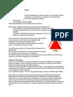 Summary Fire Safety Design