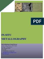 In Situ Metallography Mett Bio