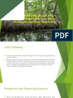 Desain Agroforestry Pada Wilayah Pesisir Sebagai Upaya Peningkatan