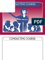 Basic Music Course-Conducting Course