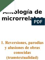 Antología de Microrrelatos
