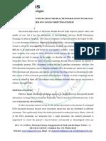 CDC Generation & Integration for Health Information Exchange Based on Cloud Computing System