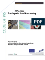 03 Code Practice Organic Food Processing
