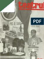 Revista Teatrul, nr. 12, anul XI, decembrie 1966
