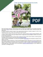 La Leyenda Del Conejo de Pascua Durante La Semana Santa