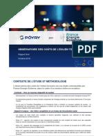 Observatoire des coûts de l'éolien terrestre en France