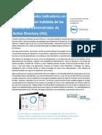 10 Principales Indicadores en La Manipulacion Indebida de Las Cuentas de Administrador de Active Directory