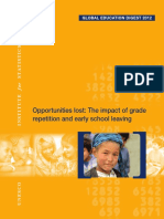 Impact of Grade Repetition UNESCO Reportged-2012-Document 2
