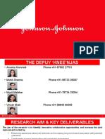 Team Depuy 'Knee'Njas - Johnson & Johnson