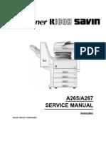 Manual Aficio 220-270 Ricoh