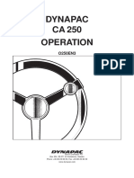 dynapac CA 250 Operations o250en