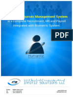 Humantiz Brochure