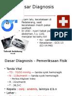 Kasus + Dasar Diagnosis Trauma Abdomen