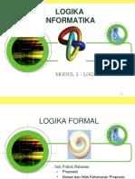 Modul 1 Logika Formal