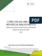 Cita y Referecia Bibliográfica APA 2015