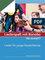 Liederspaß Vorschau Mit Bonobo-Naehanleitung