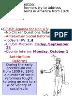 3 social reforms