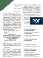 Designan Jueces de Paz de las provincias de Lima y Huarochirí departamento de Lima