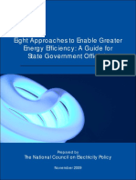 Eight Approaches to Enable Greater Energy Efficiency