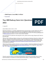 _Top 100 Hadoop Interview Questions and Answers 2016