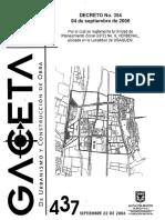Decreto 354 de 2006