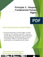 Moral Principle 2 Report