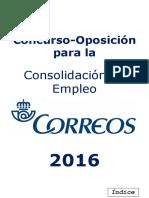 Temario Correos 2016 - Resumen