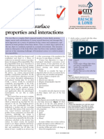 4 - Contact Lens Surface Properties and Interactions