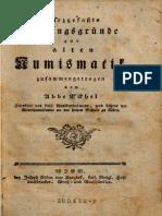 Kurzgefasste Anfangsgründe zur alten Numismatik / zusammengetragen von Abbe Eckhel