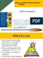 Osha Orientation